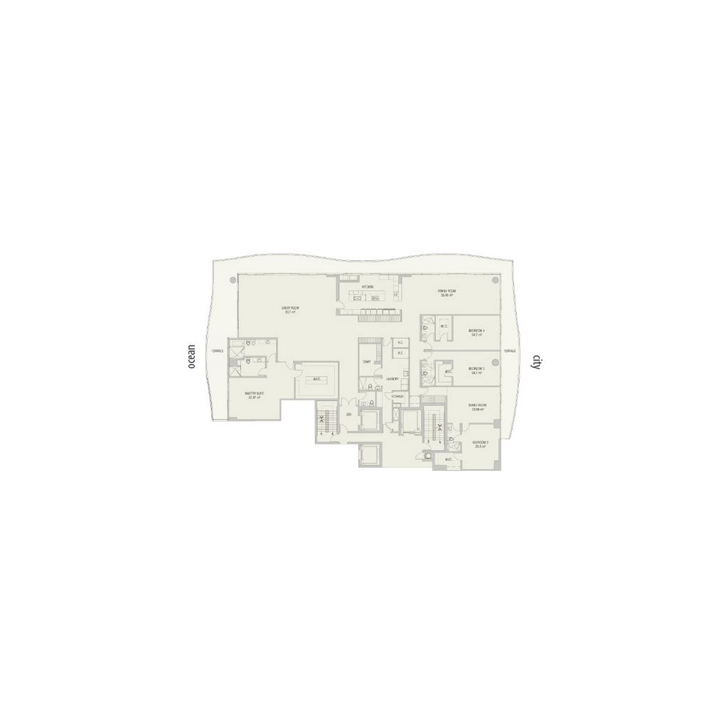 Fendi Chateau Residences - Floorplan 4