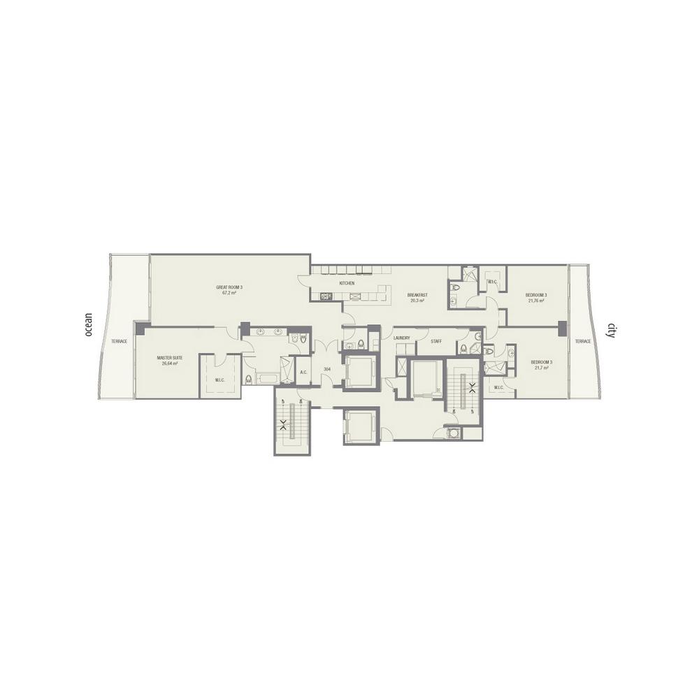 Fendi Chateau Residences - Floorplan 5