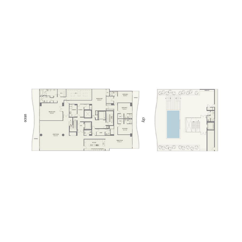 Fendi Chateau Residences - Floorplan 2