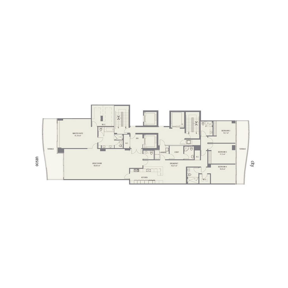 Fendi Chateau Residences - Floorplan 3