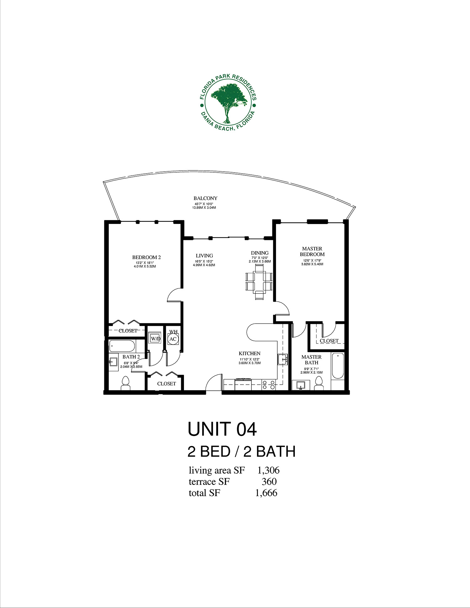 Florida Park Residences - Floorplan 1