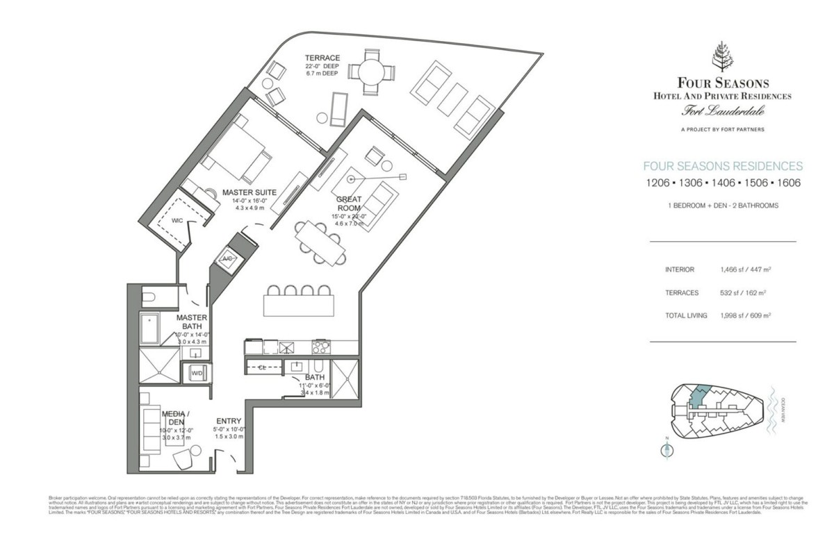 Four Seasons Hotel & Private Residences - Floorplan 3