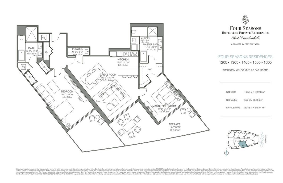 Four Seasons Hotel & Private Residences - Floorplan 4