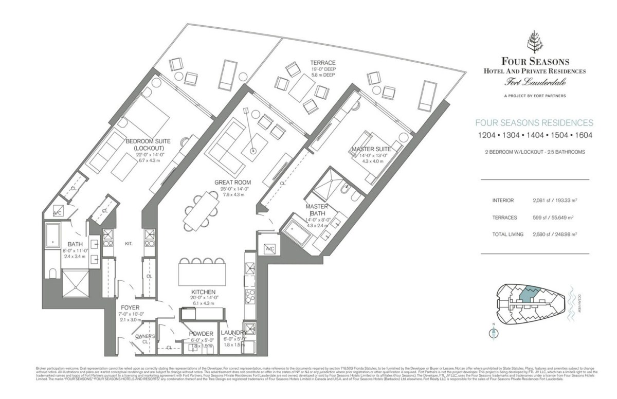 Four Seasons Hotel & Private Residences - Floorplan 5