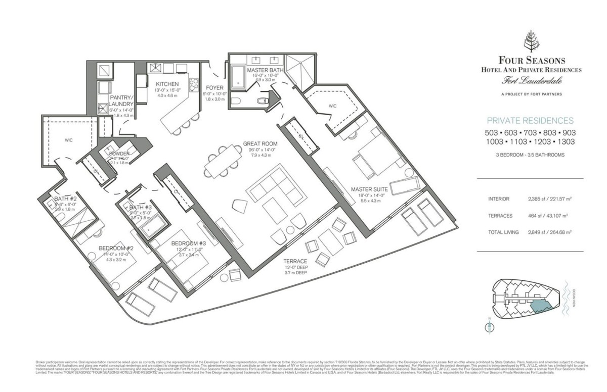 Four Seasons Hotel & Private Residences - Floorplan 6
