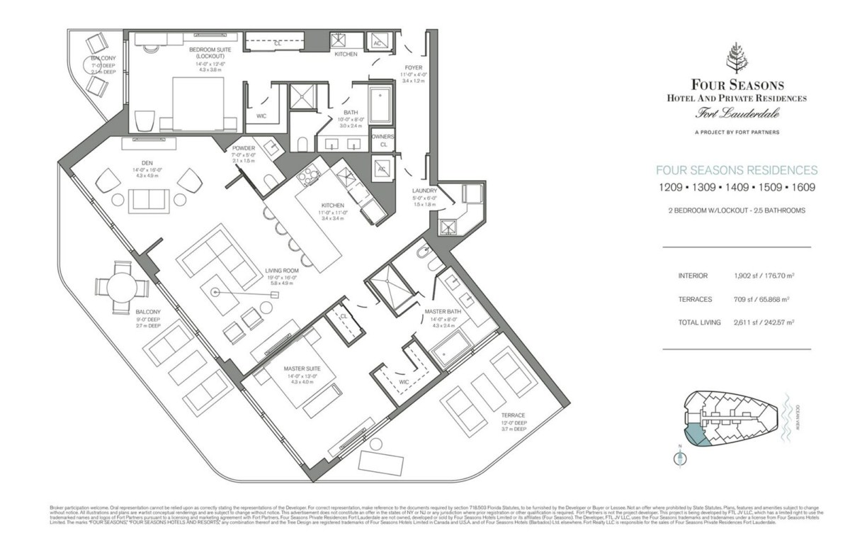 Four Seasons Hotel & Private Residences - Floorplan 8