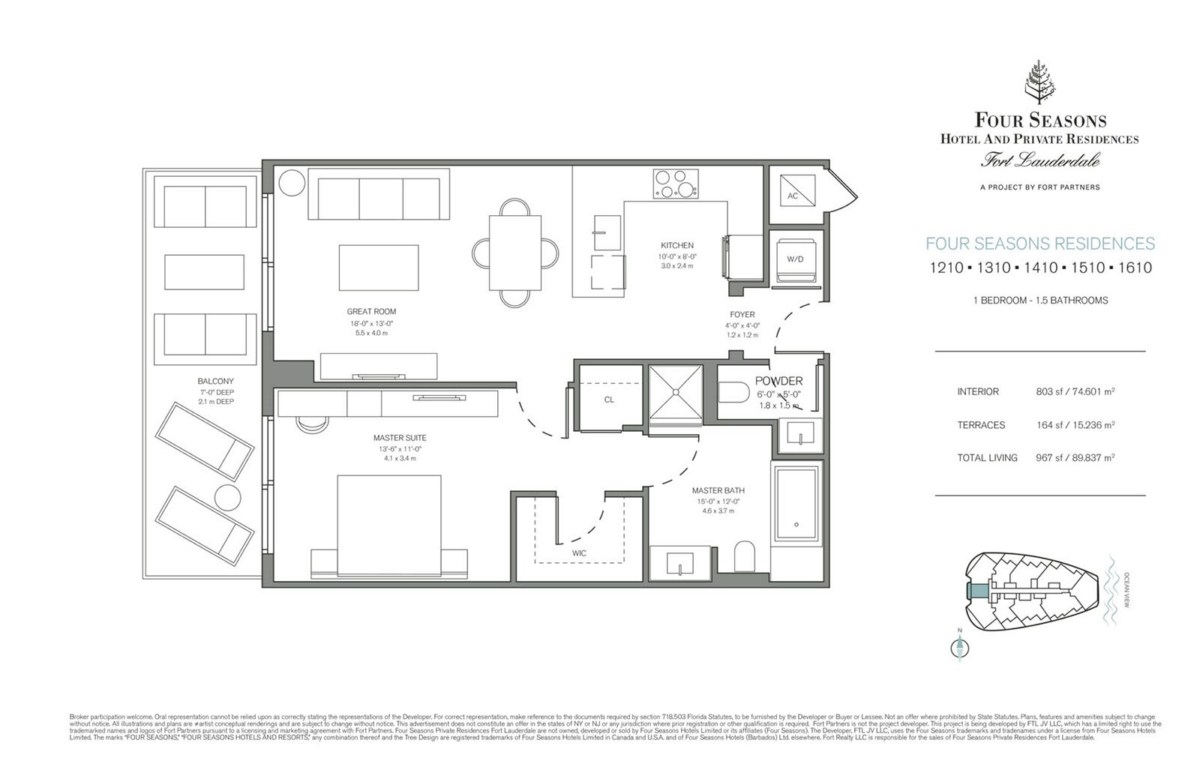 Four Seasons Hotel & Private Residences - Floorplan 9