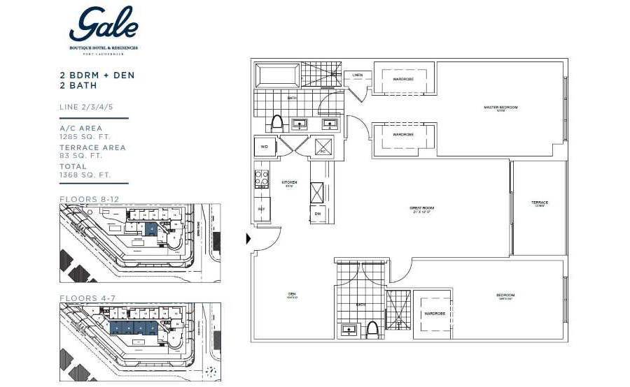 Gale Boutique Residences - Floorplan 2