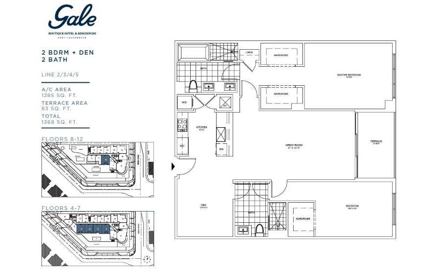 Gale Boutique Residences - Floorplan 2