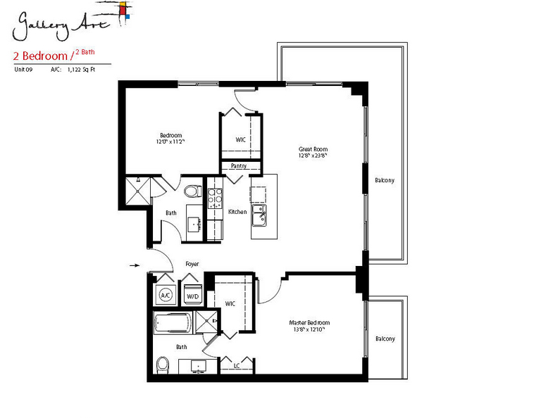 Gallery Art - Floorplan 6