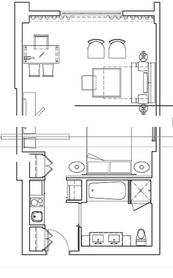 Gansevoort - Floorplan 1