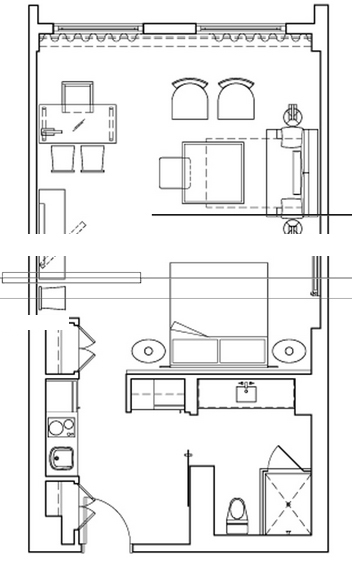 Gansevoort - Floorplan 4