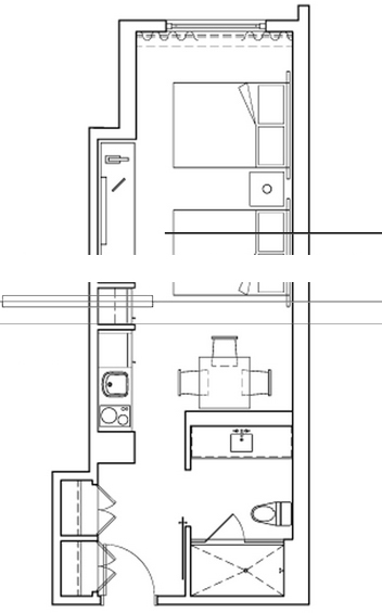 Gansevoort - Floorplan 8