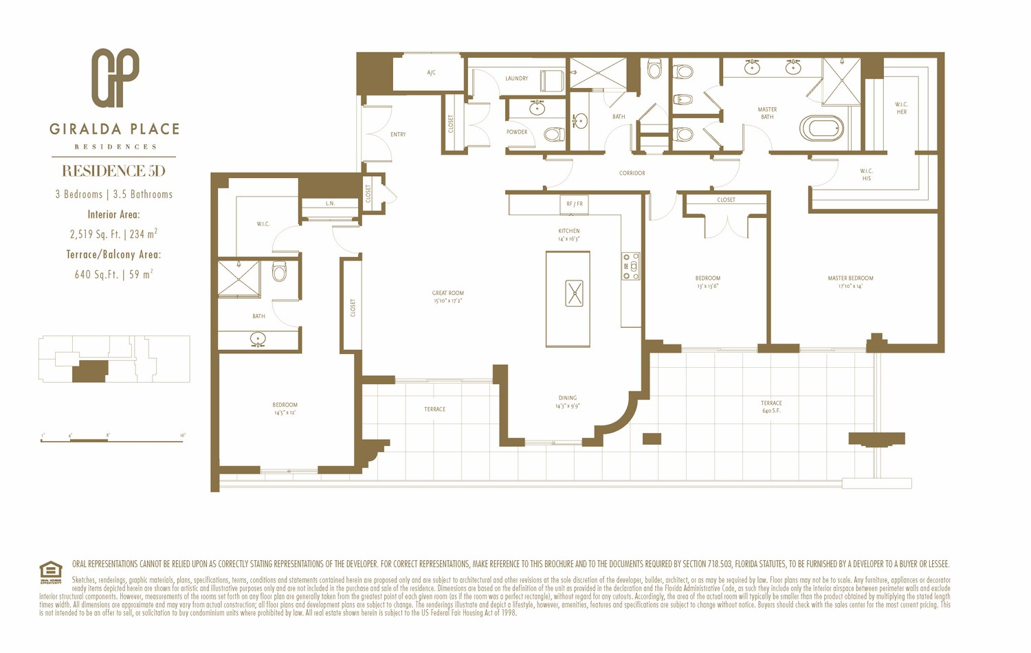 Giralda Place - Floorplan 1