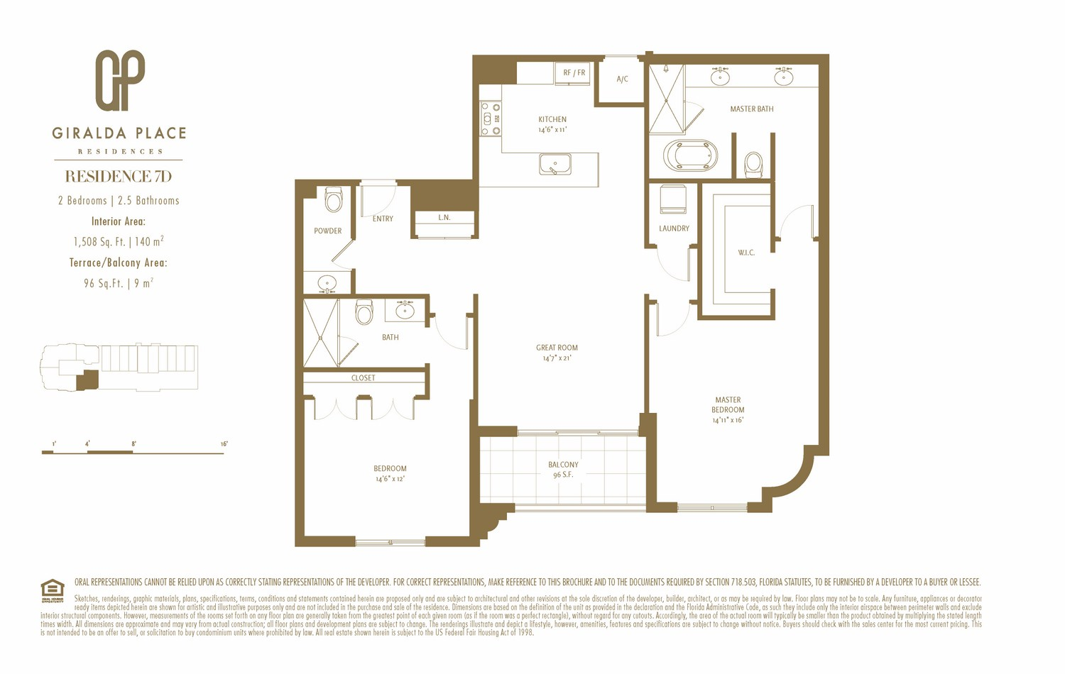 Giralda Place - Floorplan 13