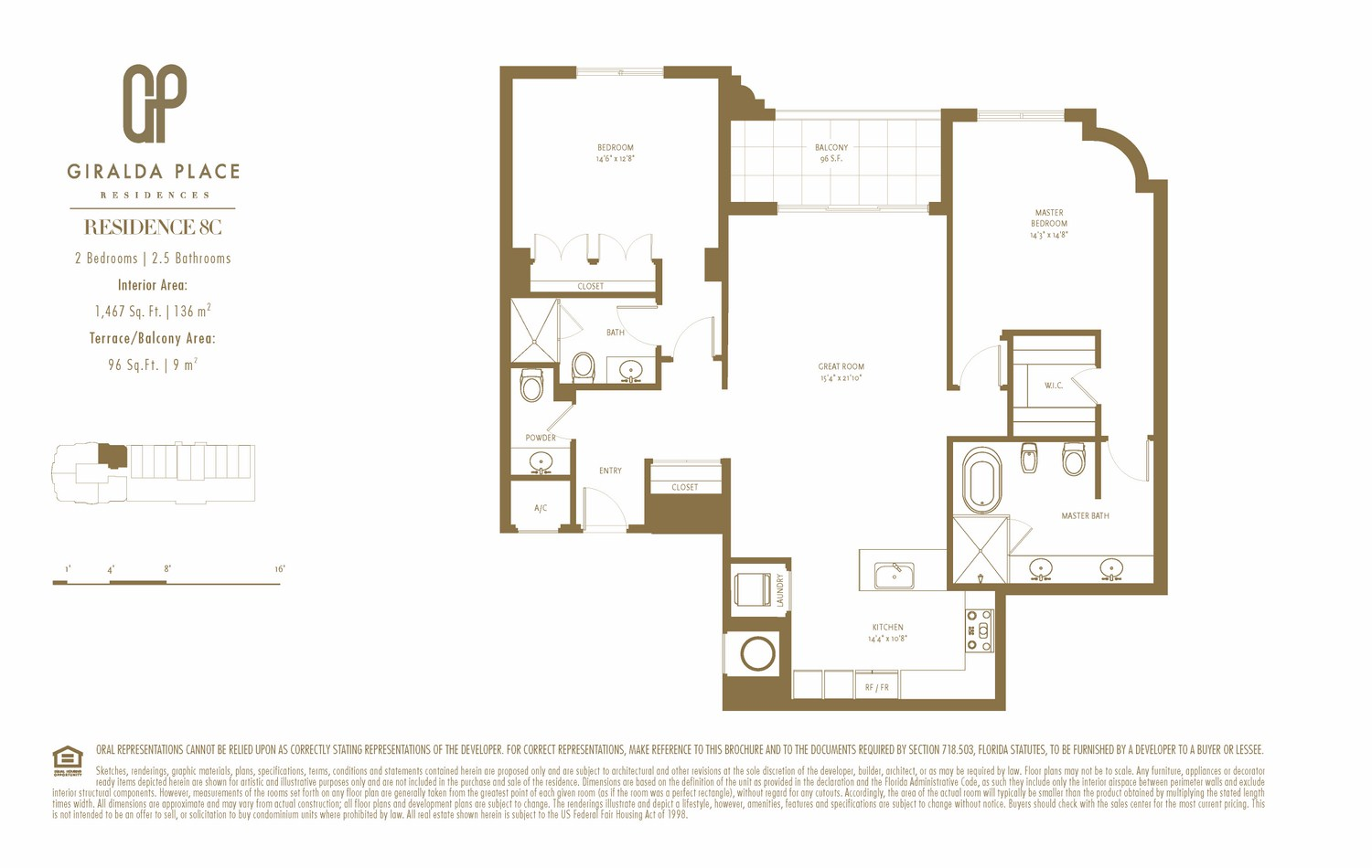 Giralda Place - Floorplan 17