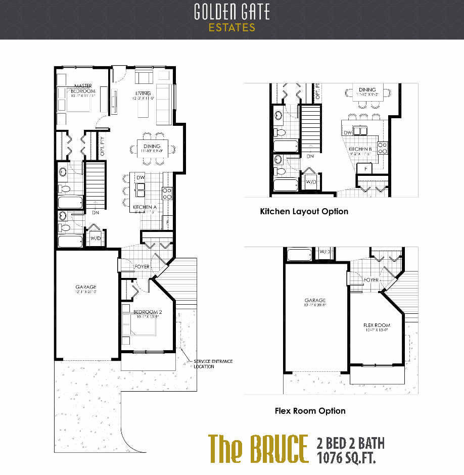 Golden Gate Estates - Floorplan 1
