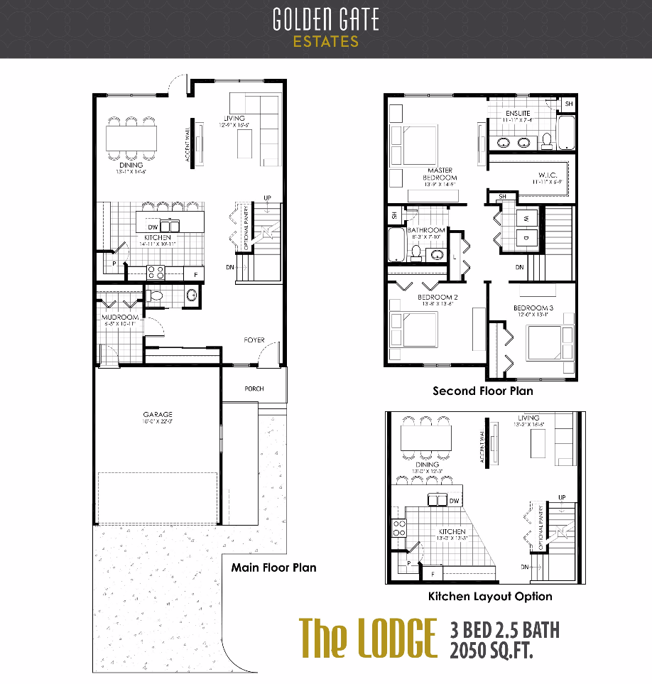 Golden Gate Estates - Floorplan 3