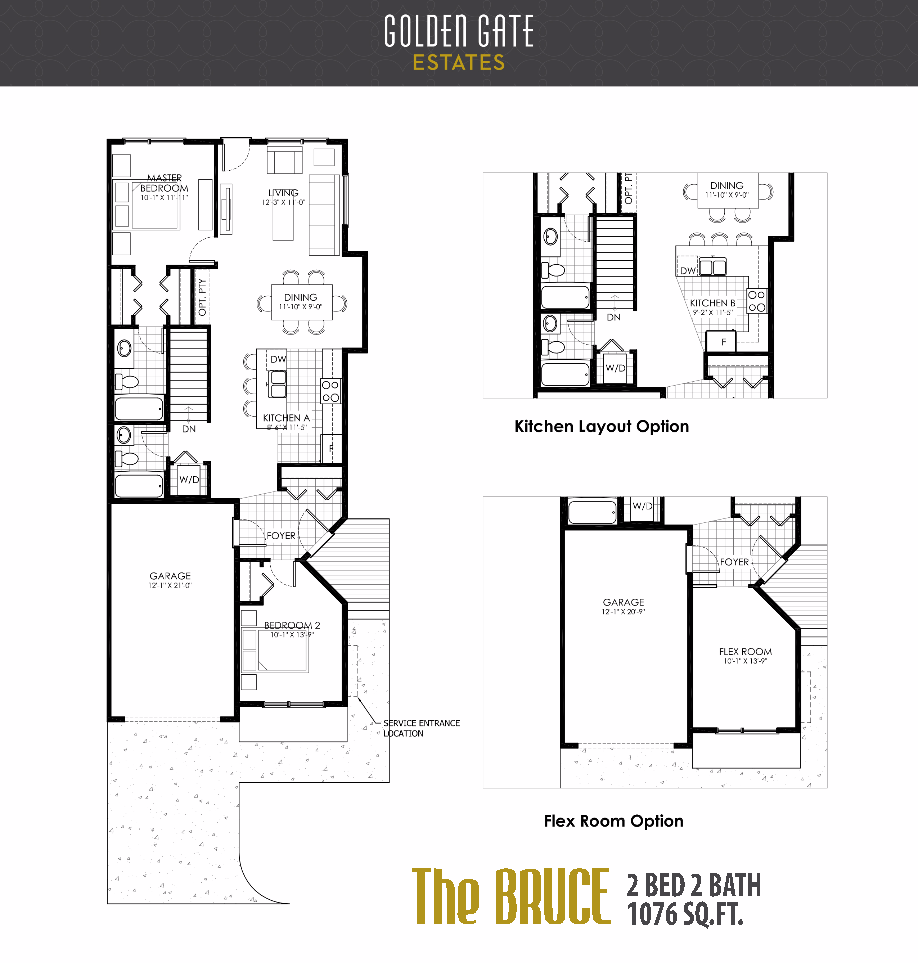Golden Gate Estates - Floorplan 5