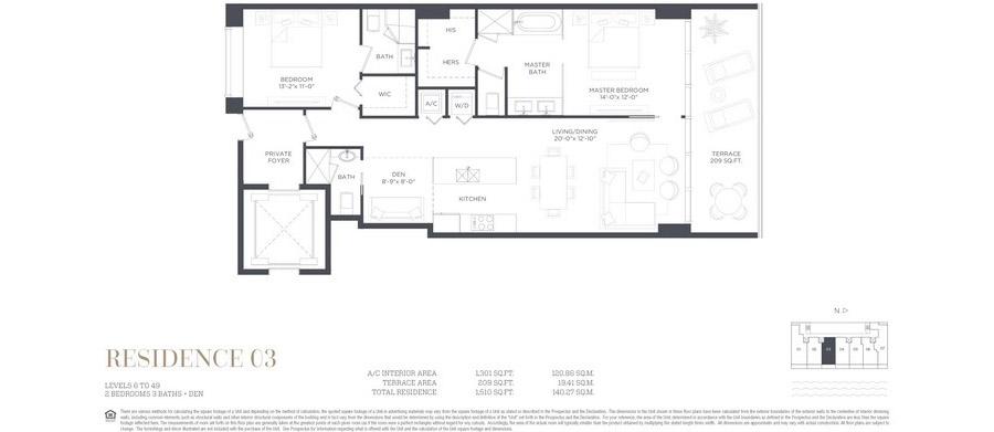 Gran Paraiso - Floorplan 3