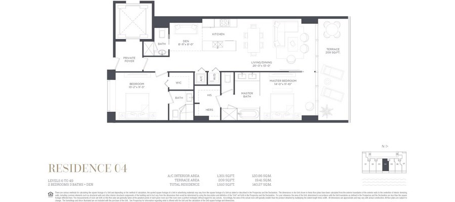 Gran Paraiso - Floorplan 4