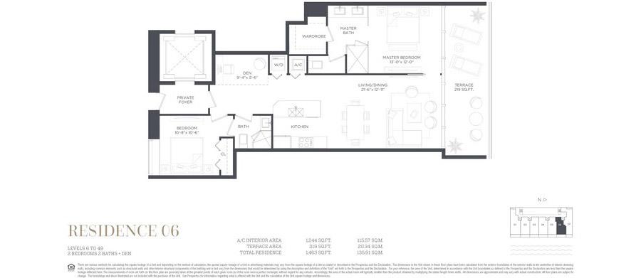Gran Paraiso - Floorplan 6