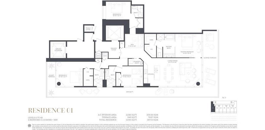 Gran Paraiso - Floorplan 7