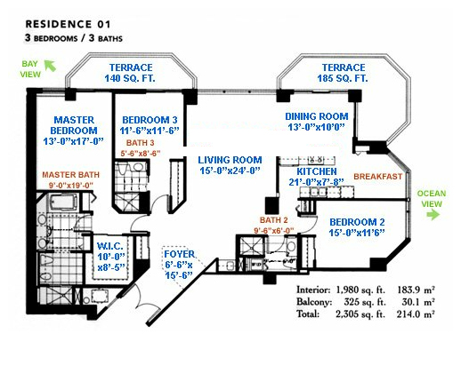 Green Diamond - Floorplan 1