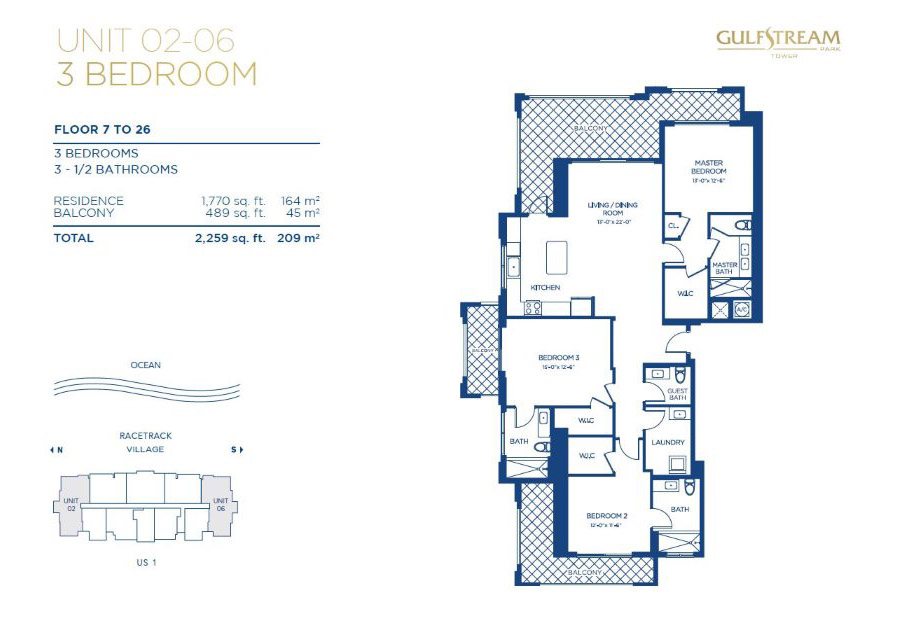 Gulfstream Park Tower - Floorplan 2