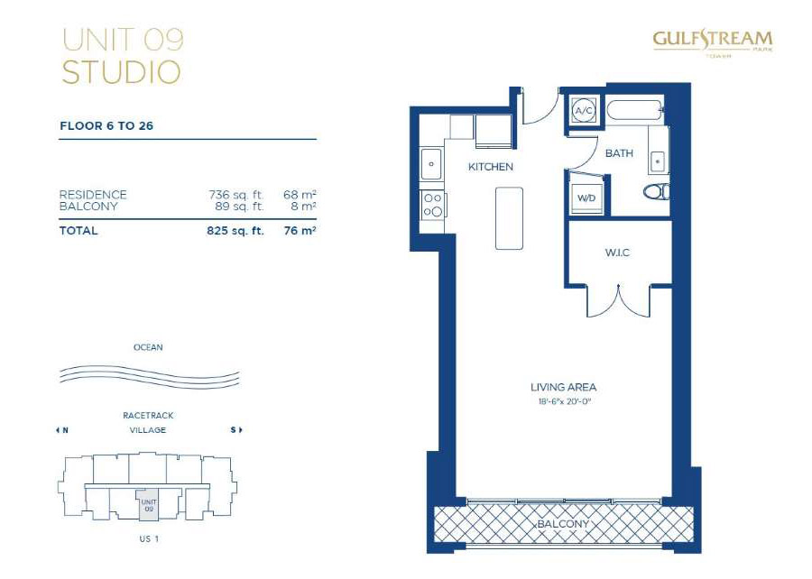 Gulfstream Park Tower - Floorplan 6