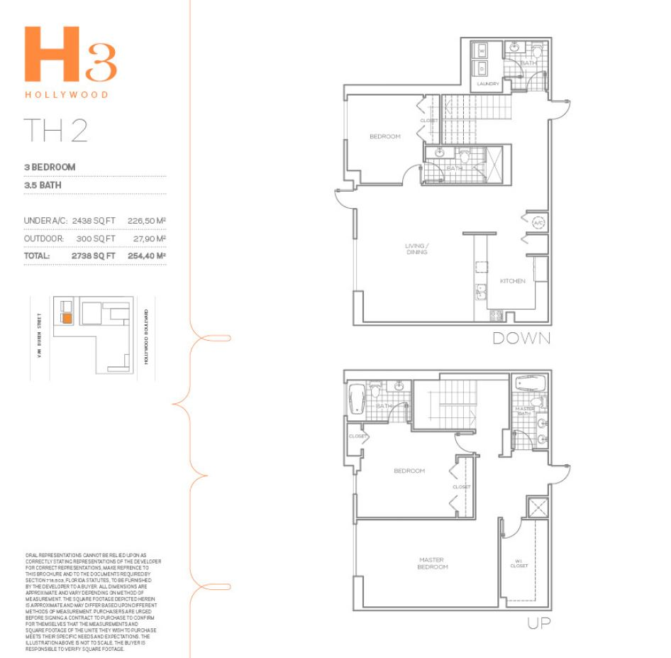 H3 Hollywood - Floorplan 8