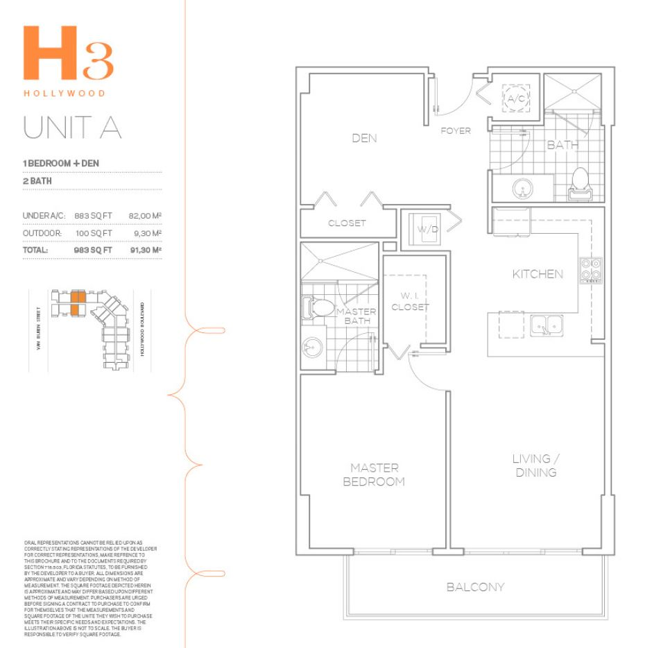 H3 Hollywood - Floorplan 10