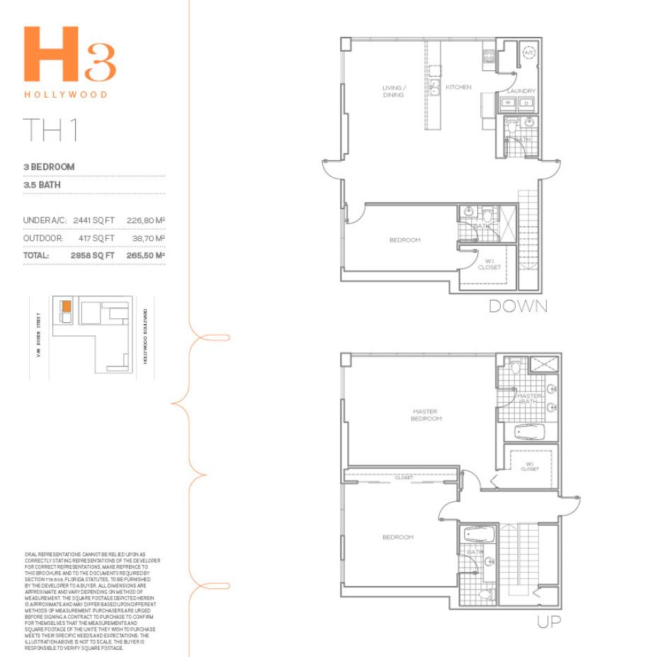 H3 Hollywood - Floorplan 11