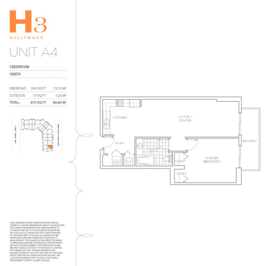 Hollywood East Apartments - Floorplan 12