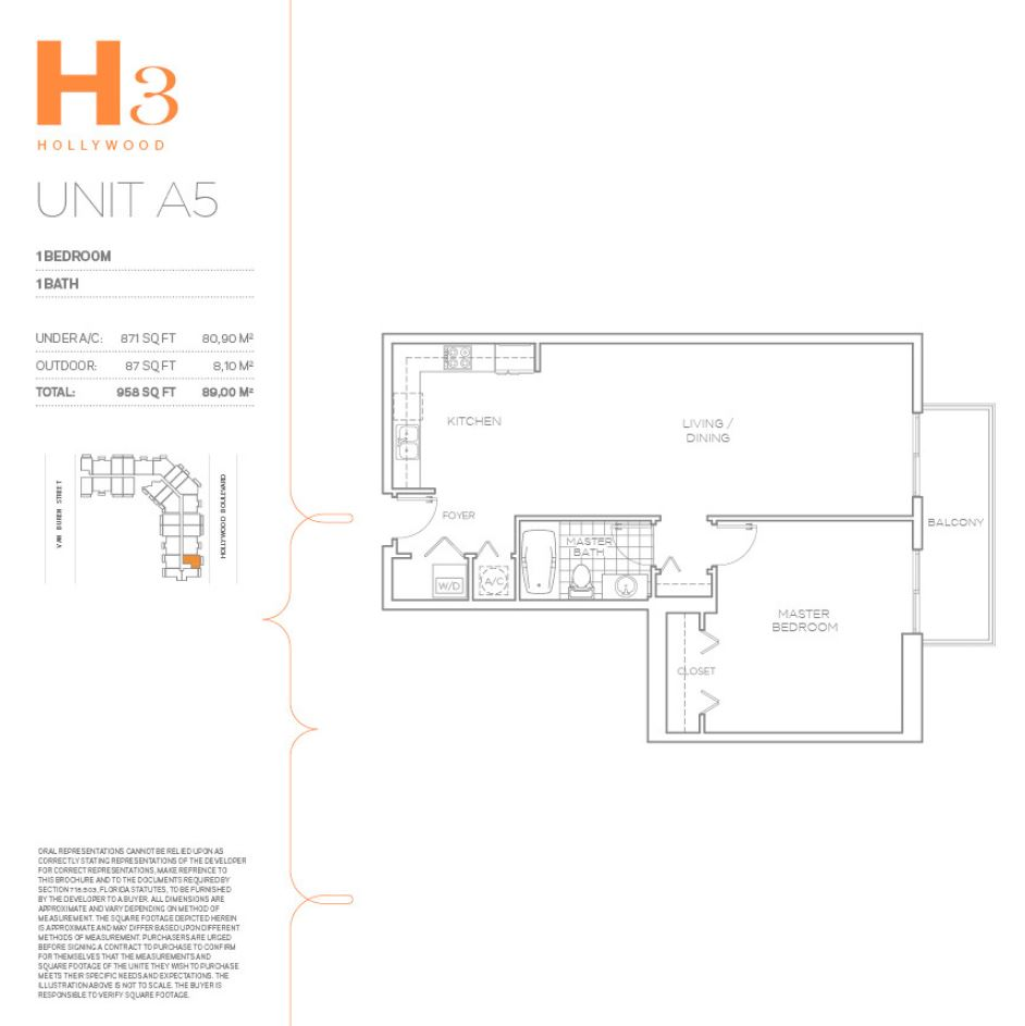 H3 Hollywood - Floorplan 15
