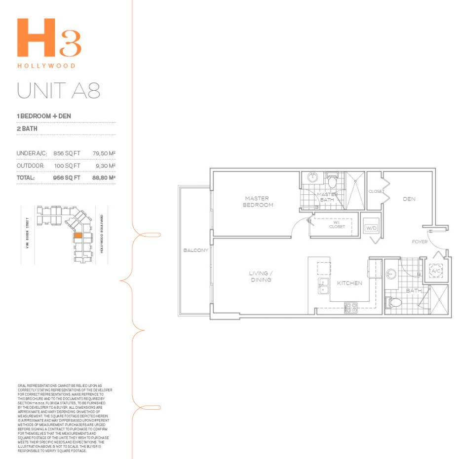 H3 Hollywood - Floorplan 20
