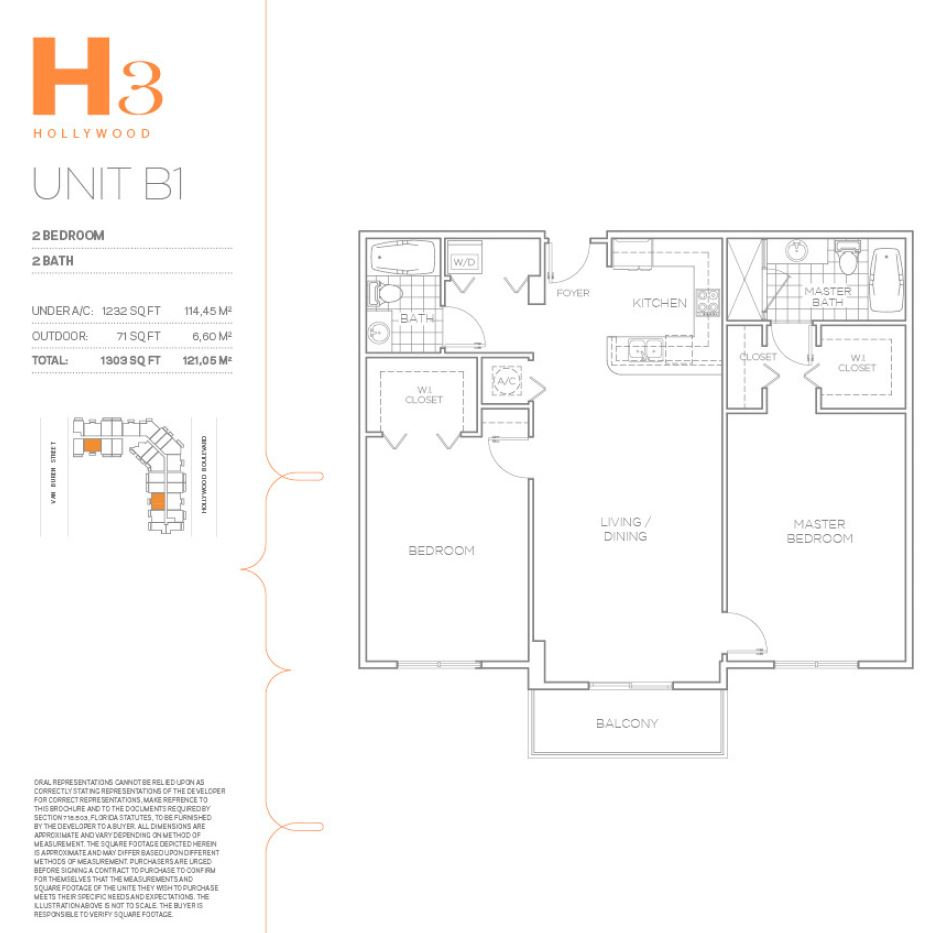 H3 Hollywood - Floorplan 23