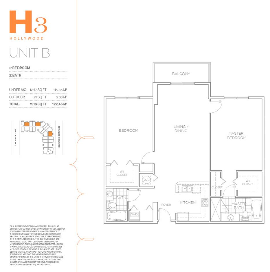 H3 Hollywood - Floorplan 24