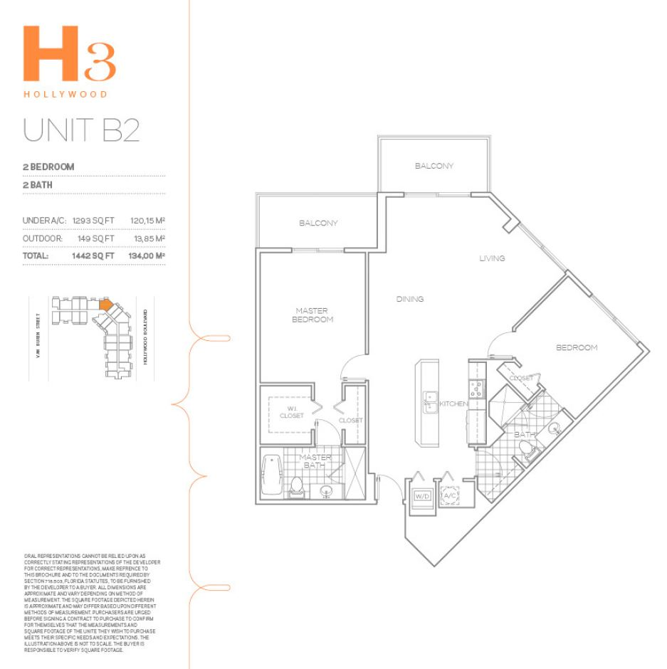 H3 Hollywood - Floorplan 25