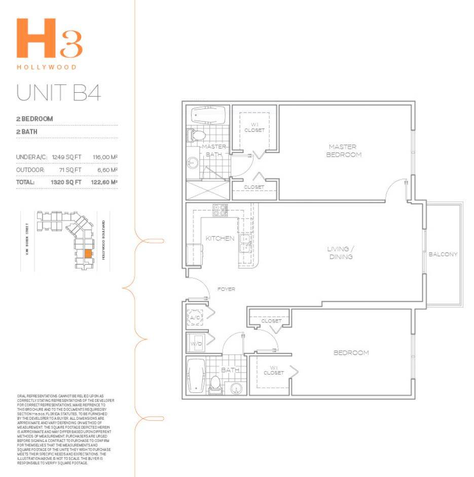 H3 Hollywood - Floorplan 27