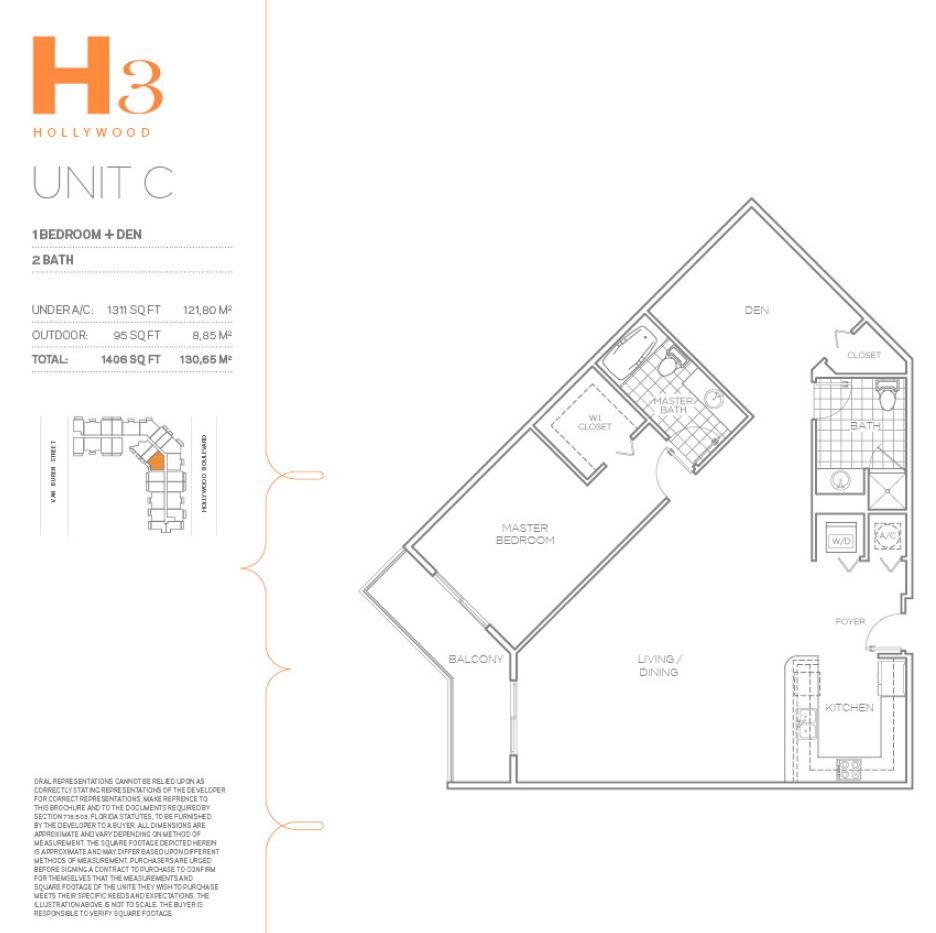 Hollywood East Apartments - Floorplan 28