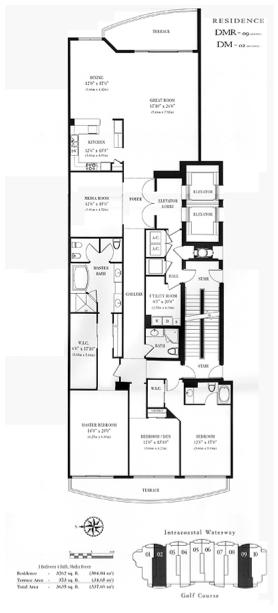 Hamptons South - Floorplan 1