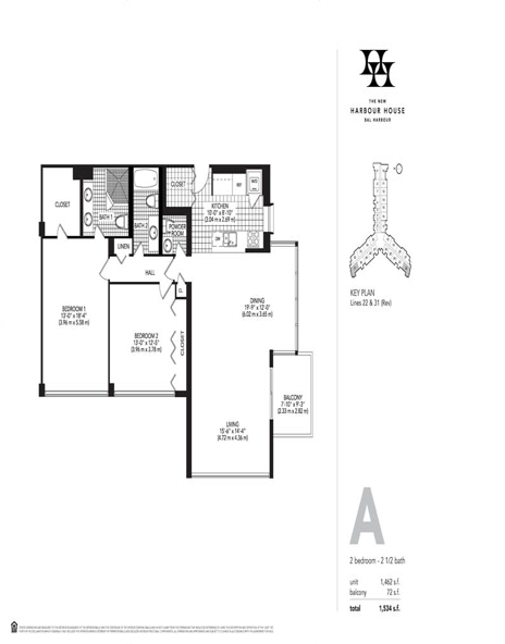 Harbour House - Floorplan 1