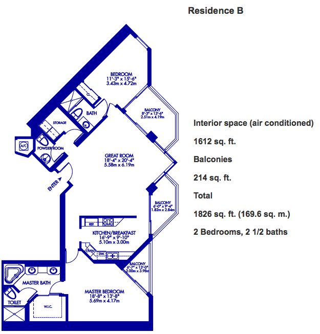 Hidden Bay - Floorplan 1