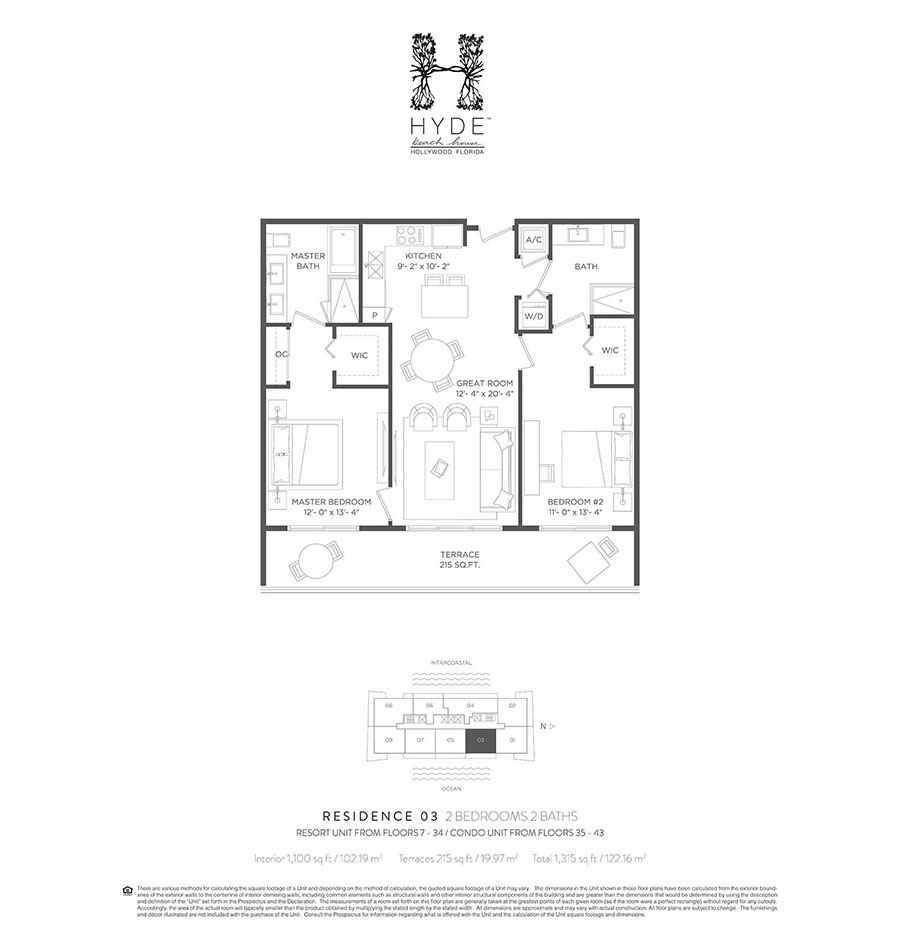 Hyde Beach House - Floorplan 4