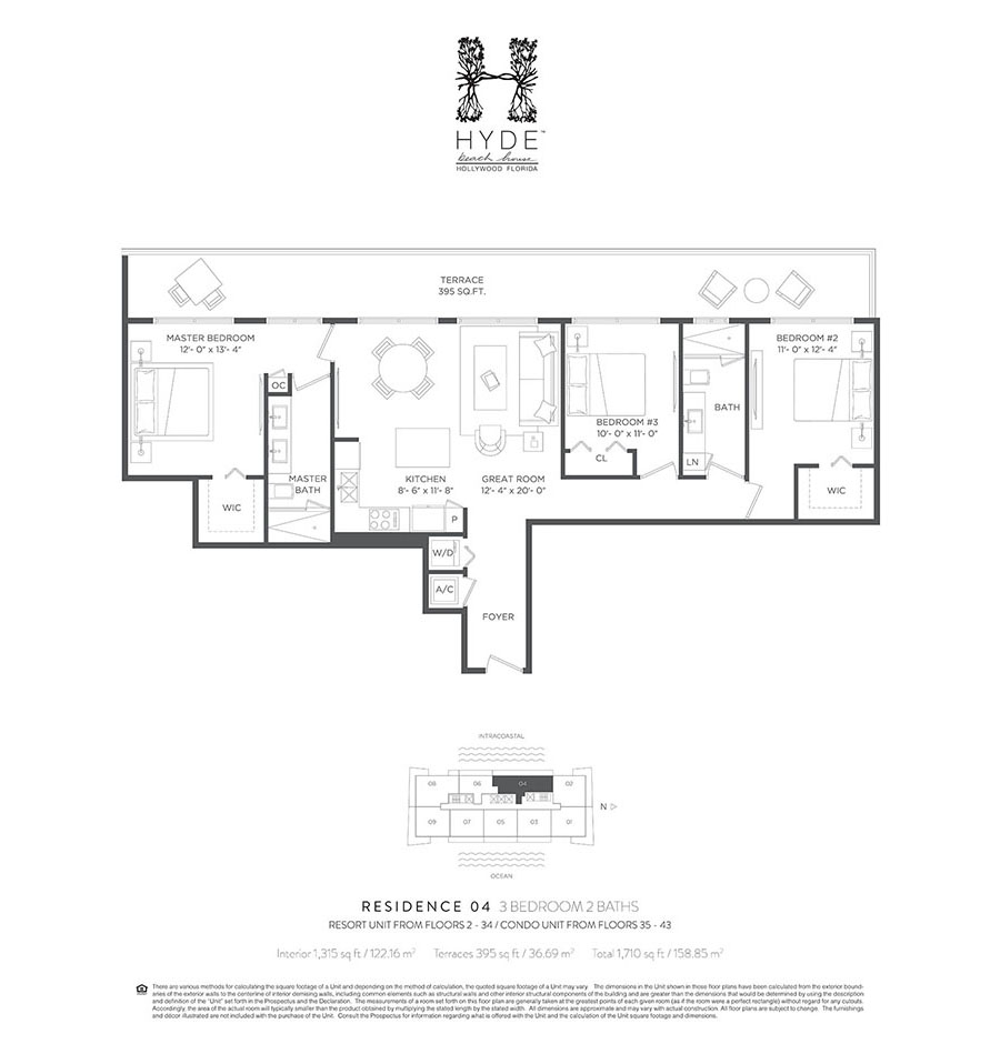 Hyde Beach House - Floorplan 5