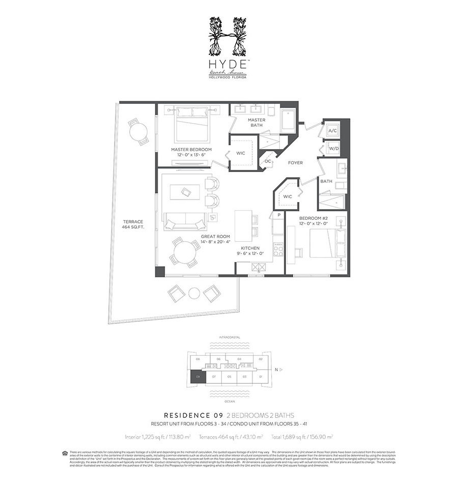 Hyde Beach House - Floorplan 6