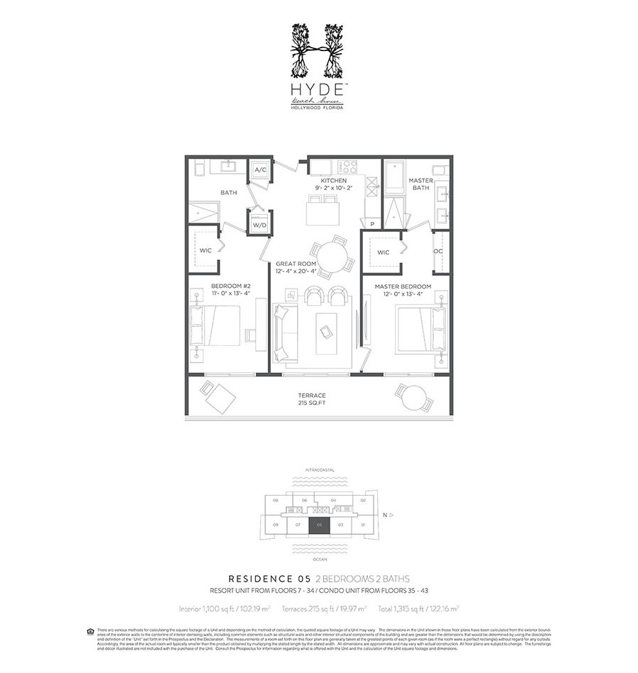 Hyde Beach House - Floorplan 7