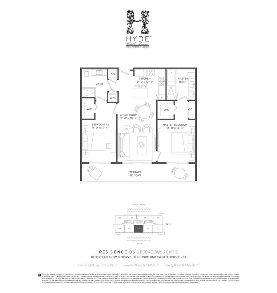 Hyde Beach House - Floorplan 7
