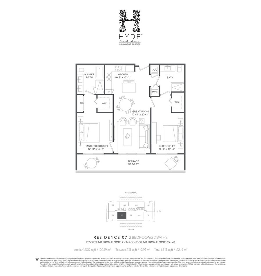 Hyde Beach House - Floorplan 8